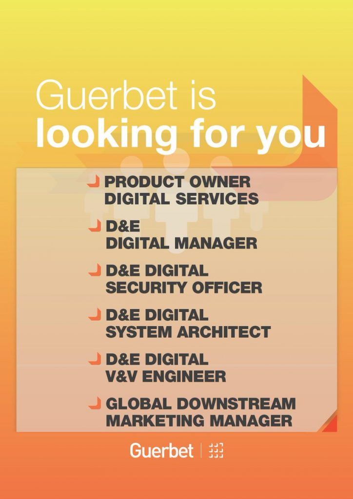 Guerbet is looking for you!